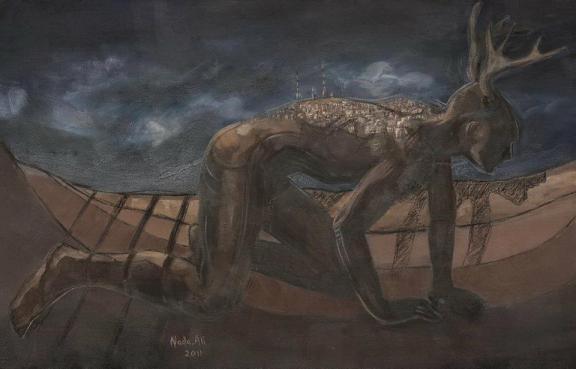 Oil on canvas 125x80 cm 2011