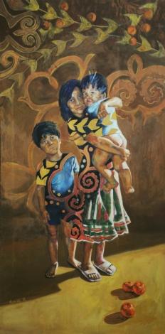 Oil on canvas 250x125 cm 2011