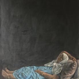 Oil on canvas 125x80 cm2017