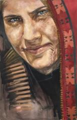 Oil on canvas 125x80cm 2018